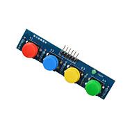 4-gombját modul érzékelő külső billentyűzet modul Arduino + málna PI kék