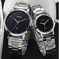 la moda di ceramica quarzo bianco del polso contratta orologio da polso impermeabile