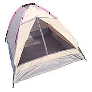 LANGYA 2 henkilöä Teltta Yksittäinen Yksi huone teltta Hengitettävyys Nopea kuivuminen-Retkeily-Keltainen Vaalea vaaleanpunainen