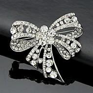 Dame Brocher Mode Sød Stil kostume smykker Krystal Butterfly Form Smykker Til Bryllup Fest Speciel Lejlighed Fødselsdag Daglig