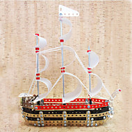 Sailboat  Puzzles Magical Alloy Model DIY Toys Modeling Toys