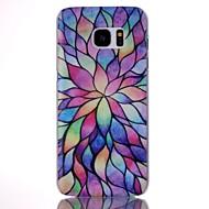 Mert Samsung Galaxy S7 Edge Minta Case Hátlap Case Mértani formák PC Samsung S7 edge / S7
