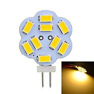 2W G4 Luminárias de LED  Duplo-Pin T 9 SMD 5730 100-200 lm Branco Quente / Branco Frio Decorativa DC 12 / AC 12 V 1 pç