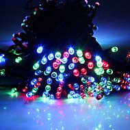 King Ro Solar Power LED String Lights 17M 150LED 8Mode Christmas Wedding Party Decor Lights