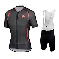 Damm säker / Vindtät / Lättviktsmaterial / 3D Pad / Låg friktion - Kort ärm - Klädesset/Kostymer ( Others ) - till Cykling - Herr / Unisex