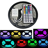 ZDM 5M 300X5050 SMD RGB LED Strip Light  IP20 with 44Key Remote Controller (DC12V)