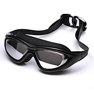 yuke®anti-fog, tamanho ajustável, impermeável, anti-uv, despedaça-prova de gel de sílica unisex (frames) PC (Lens) óculos de natação