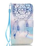 Na Samsung Galaxy Etui Etui na karty / Z podpórką / Flip / Magnetyczne / Wzór Kılıf Futerał Kılıf Łapacz snów Skóra PU SamsungA5(2016) /