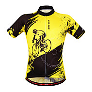 Wosawe Fietsen/Wielrennen Sweatshirt / Shirt / Kleding Bovenlichaam Dames / Unisex Korte MouwAdemend / Vochtdoorlaatbaarheid /