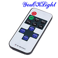 YouOKLight® Mini RF 433.92MHz Single Color LED Strip Dimmer Controller Set - White + Red + Black(DC 12~24V)