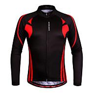 WOSAWE Fahrradtrikot Damen Unisex Langärmelige Fahhrad Sweatshirt Trikot/Radtrikot OberteileRasche Trocknung Anatomisches Design