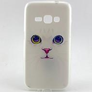 Για Samsung Galaxy Θήκη Με σχέδια tok Πίσω Κάλυμμα tok Γάτα TPU Samsung J7 / J5 (2016) / J1