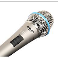 ouro mic salar banhado a interface de microfone condensador slm12mkf