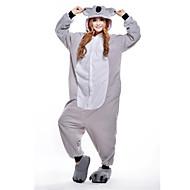 Kigurumi نوم Cosplay® جديدة / الكوال دب أسترالي /قمصان الرضعثوب الراقص Halloween ملابس للنوم الحيوانات رمادي بقع القطبية ابتزاز Kigurumi