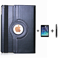 PU Leather Flip Smart Stand 360 Rotating Case For iPad 4/3/2 +Screen Protector Film Stylus Pen (Assorted Colors)
