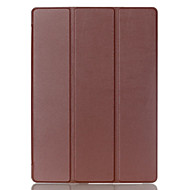 9.7 Inch Three Folding Pattern High Quality PU Leather Case for ipad pro 9.7(Assorted Colors)