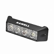 """Kawell 12w 5,5 """"dc 9-32v 6000k 800lm 30 fokos led könnyű vízálló fekete led munkahelyi fény"""