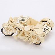 직소 퍼즐 3D퍼즐 / 나무 퍼즐 빌딩 블록 DIY 장난감 오토바이 나무 골드 모델 & 조립 장난감
