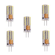 5pcs G4 48LED 3014SMD 3W 200LM 3000K/6000K Warm White/Cool White Light Lamp Bulb(AC/DC10-20V AC220V)