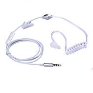 stereo yksikanavainen 3,5 mm anti säteilyä kuuloke ilmajousipalkin kanavaan sanka kuulokkeet iphone Samsung kaikille puhelimen&mp3