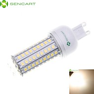 SENCART E27 B22 E14 G9 GU10 9W 102 x 2835SMD 1200LM Warm White / Cool White Led Light Bulbs AC110 AC240V)