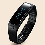 E02 Έξυπνο Βραχιόλι / Παρακολούθηση Δραστηριότητας / Έξυπνο Ρολόι / Λουράκια ΚαρπούΑνθεκτικό στο Νερό / Βηματόμετρα / Φωνητική Κλήση /