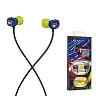 luces de neón Ultimate Ears 100 auriculares con aislamiento de ruido de 3,5 mm estéreo de la música del oído para el iphone 6 / iPhone 6