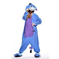 Kigurumi Pijamas nueva Cosplay® / Burro Leotardo/Pijama Mono Festival/Celebración Ropa de Noche de los Animales Halloween Azul Retazos