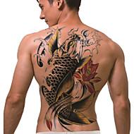 väliaikainen tatuointi (täysi back) - koi (2kpl)