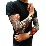 10pcs που κάλτσες βραχίονα τέχνη του σώματος γλιστρήσει αξεσουάρ ψεύτικο προσωρινό τατουάζ μανίκια, τίγρης, το στέμμα της καρδιάς, το