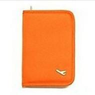 Passport Holder & ID Holder Multi-function Travel Storage for Multi-function Travel StorageBlack Orange Gray Ruby
