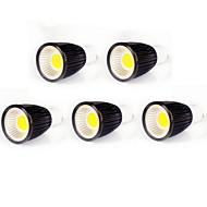 Spot LED Gradable Blanc Chaud / Blanc Froid MORSEN 5 pièces MR16 GU10 9W COB 700-750 LM AC 100-240 / AC 110-130 V