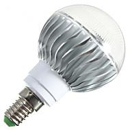 1 st 无 E14 / B22 / E26/E27 6 W 1 Högeffekts-LED 540 LM RGB B Dimbar / Fjärrstyrd Globglödlampa AC 85-265 V