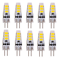 ywxlight® 10 PC G4 3W 6 SMD 5730 500-700 lm / fresco caliente deco blanco blanco llevó luces bi-pin de 12 V CC