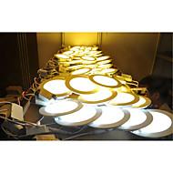 6W Lumini Panel 30pcs SMD 2835 500-550lm lm Alb Cald / Alb Rece / Alb Natural Decorativ AC 85-265 V 1 bc