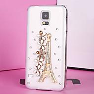 luxusním plastová diamant vypadat zadní kryt pro Samsung Galaxy S5
