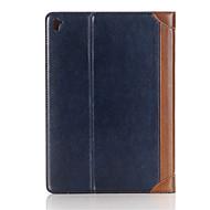 nouveau cas de luxe rétro en cuir pour Apple iPad pro 9,7 pouces pour le cas intelligent avec fonction lit