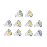 10 pcs GU10 7W 18 SMD 5630 570 LM Warm White / Cool White LED Spotlight AC 220-240 V