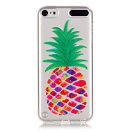 Pineapple Pattern TPU Relief Back Cover Case for iPod Touch 5/Touch 6