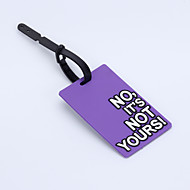 Travel Inflated Mat / Luggage Tag Luggage Accessory Plastic Pink