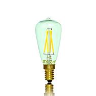 Ampoules Globe LED Gradable / Décorative Blanc Chaud NO 1 pièce Tube E14 3W 4 COB 200-300 lm AC 100-240 / AC 110-130 V