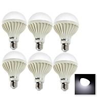 5W E26/E27 Ampoules Globe LED B 9 SMD 5630 400 lm Blanc Froid Décorative AC 100-240 V 6 pièces