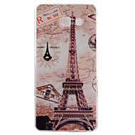 For Samsung Galaxy Case Pattern Case Back Cover Case Eiffel Tower TPU Samsung A7(2016) / A5(2016) / A3(2016) / A7 / A5 / A3