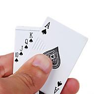 le style de poker de poker en argent briquets gaz gonflable métal flammes léger ouvert