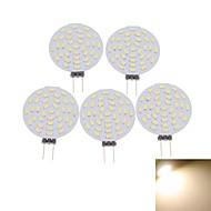 4W G4 LED-kohdevalaisimet MR11 36 SMD 3014 400-480 lm Lämmin valkoinen / Kylmä valkoinen Koristeltu DC 12 / AC 12 V 5 kpl