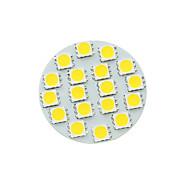 G4 gu4 gz4 mr11 5w 18smd 5054 450-480lm 3500-6500k fehér / hideg / meleg fehér led spotlámpa izzó dc12v