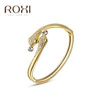 Γυναικεία Βραχιόλια με Φυλαχτά Βραχιόλια Μοναδικό Μοντέρνα Κρύσταλλο Κράμα Κοσμήματα Φίδι Χρυσαφί Κοσμήματα Για Γάμου Πάρτι Καθημερινά 1pc