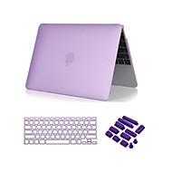 """3 σε 1 πεντακάθαρα περίπτωση soft-touch με κάλυμμα πληκτρολόγιο και το βύσμα σκόνης για MacBook Pro 13 """"/ 15 '' με αμφιβληστροειδή"""