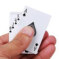 briquets de style poker argent de poker gaz gonflable métal léger vent