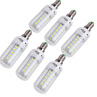 4W E14 / E26/E27 LED a pannocchia T 36 SMD 5730 228 lm Bianco caldo / Luce fredda Decorativo AC 220-240 / AC 110-130 V 6 pezzi